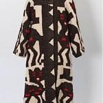vintage handcrafted guatemalan blanket coat