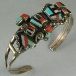 vintage guillerimo natachu zuni bracelet