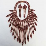 vintage juliana necklace and earrings