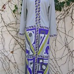 vintage paganne maxi dress