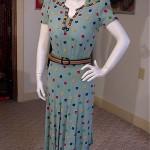 vintage 1930s ellen kaye dress