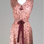 vintage 1940s print dress