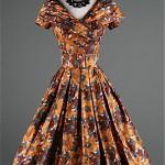 vintage 1950s silk suzy perette dress