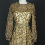 vintage 1960s beaded malcolm starr cocktail dress