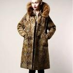 vintage 1960s tapestry mink trim coat