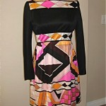 vintage 1960s victor costa dress