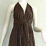 vintage 1970s halston iv jersey dress