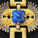 vintage castlecliff pharaoh necklace 2