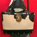 vintage enid collins fur handbag