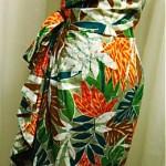 vintage hawaiian sarong dress hp