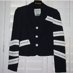 vintage moschino cheap and chic suit