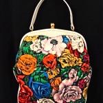 vintage rosenfeld velvet handbag