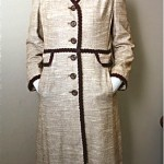 vintage town and country coat