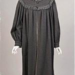 vintage ysl rive gauche wool coat