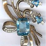 vintage 1940s eisenberg brooch