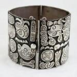 vintage 1940s talleres de los ballesteros mexico sterling bracelet