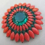 vintage 1950s alfred philippe brooch