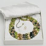 vintage 1959 christian dior glass necklace