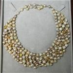 vintage 1960s faux pearl necklace