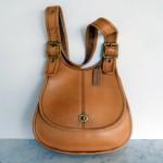 vintage 1970s bonnie cashin for coach saddle bag
