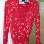vintage 1970s dvf heart print wrap dress