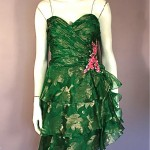 vintage 1980s bill blass party dress
