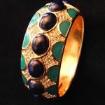 vintage ciner clamper bracelet