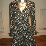vintage dvf wrap dress