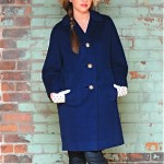 vintage midcentury cashmere coat