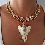 vintage nettie rosenstein elephant necklace