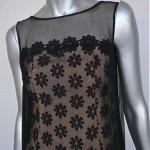 vintage 1960s sheer chiffon dress 2