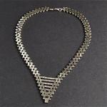 vintage 1920s jakob bengel machine age necklace