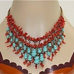 vintage 1930s miriam haskell attributed necklace