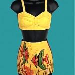 vintage 1940s catalina swimsuit