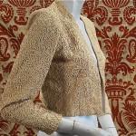 vintage 1940s soutache evening jacket