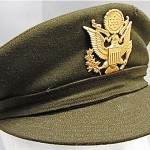 vintage 1945 WAC WWII uniform cap