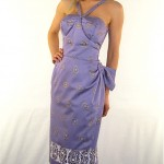 vintage 1950s alfred shaheen sarong sundress