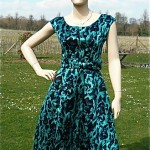 vintage 1950s hattie carnegie dress