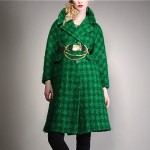 vintage 1950s houndstooth boucle coat sw