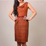 vintage 1960s fitted dress