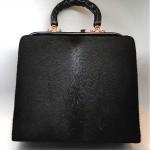 vintage 1960s fur handbag