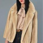 vintage 1960s revillon for saks tourmaline mink jacket