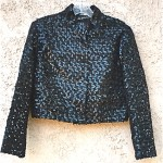 vintage 1960s saks fifth avenue sequin evening jacket