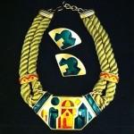 vintage 1970s monet necklace