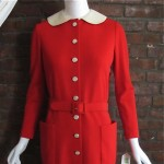 vintage 1970s norell dress from final collection 2