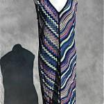 vintage 1980s missoni slip dress