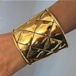 vintage 1984 chanel cuff bracelet