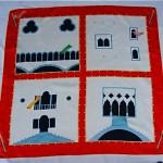vintage 1990s bvlgari silk twill scarf