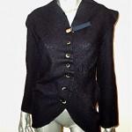 vintage 1990s issey miyake wool jacket