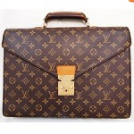 vintage 1990s louis vuitton briefcase
